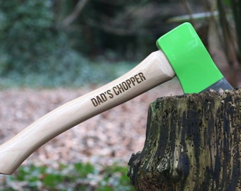 Axe with Personal Message - Engraved Ax - DIY gifts - Man Gifts - Gifts for Him