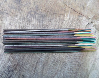 Mixed Incense Sticks | Absolute Grade | 100% Natural Incense | Traditional Indian Incense | Hand Rolled With Essential Oils