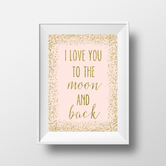 Items Similar To I Love You To The Moon And Back Vinyl: Items Similar To I Love You To The Moon And Back, Nursery