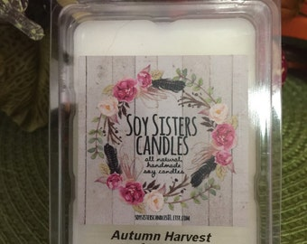 2.4 oz tart melter soy candle - Autumn Harvest