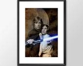Luke Skywalker & Princess...