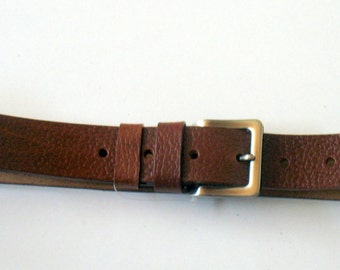 LEATHER BELT 4 cm