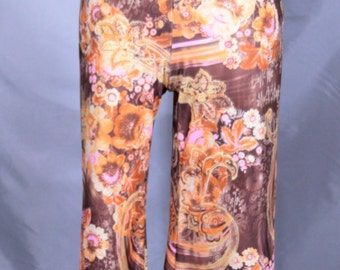 Psychedelic Abstract Patterned Jumpsuit/Romper Size Small/Medium