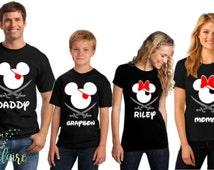 Disney Family Shirts I Mickey and Minnie Pirate Shirts I Disney Trip Shirt I Disney Tank Tops I Disney Princess I Minnie Couples Shirts