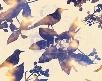 Sunset Birds by Eades Bespoke, Luxury Wallpaper