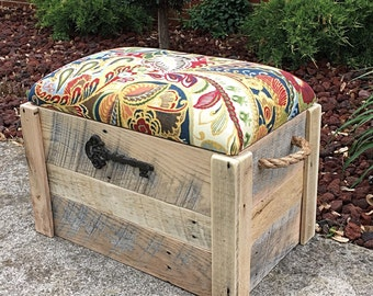 Storage bench - Shoe bench - Entryway bench - Toy box - Hope chest - 24x15x18 - The Mini