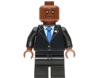 Barack Obama - Custom LEGO Minifigure