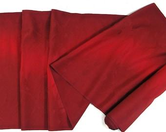 Vintage Japanese Kimono Silk Fabric Flying Crane