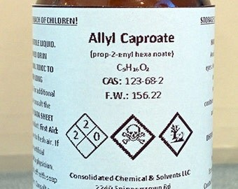 Allyl Caproate High Purity Aroma Compound 30ml (1oz)