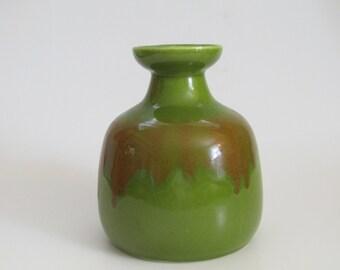 Tilso Green Pottery Vase