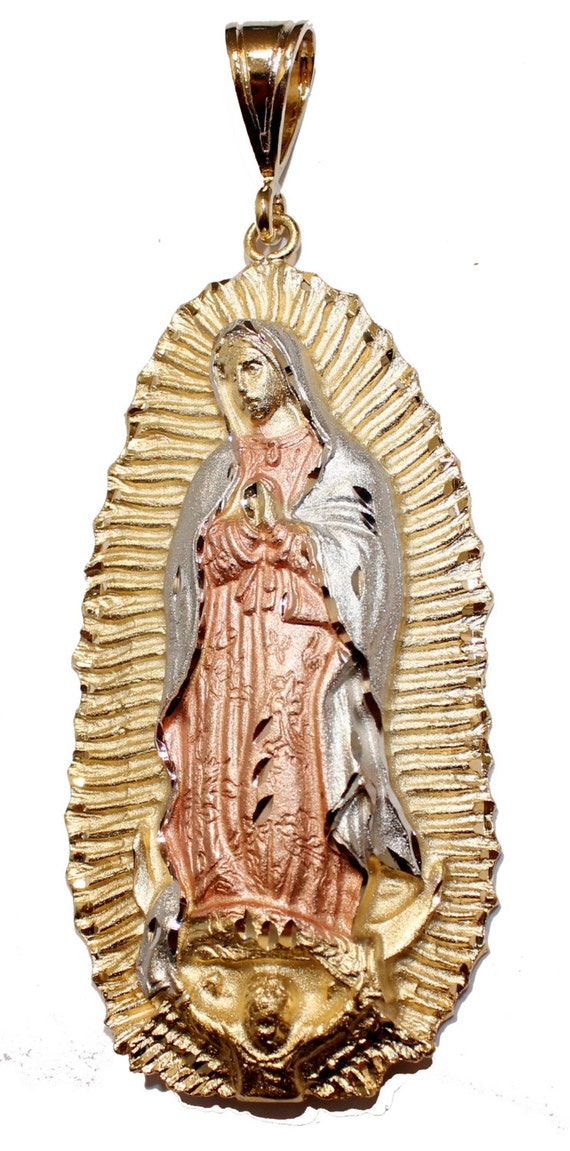 Virgin De Guadalupe Gold Necklace 85