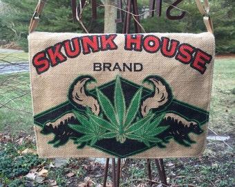 Skunk House messenger bag