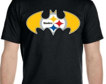 Hero Steelers B T-shirt Available **LIMITED TIME ONLY** for Men Women Youth Toddler Infant Onesie Baby size to 6XL plus size 100% Fan Art