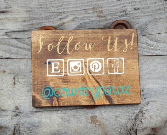 Social media photo prop wood signs sayings craft show for How to display wood signs at craft show