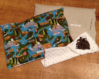 buckwheat pillow / pillow écales buckwheat