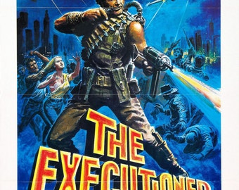 THE EXECUTIONER PART 2 Movie Poster Rare 80's