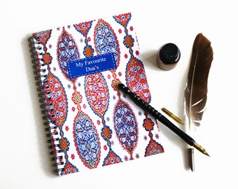 My Favourite Dua's A5 Notebook, Islamic Gift Stationery