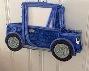 Little blue truck pinata