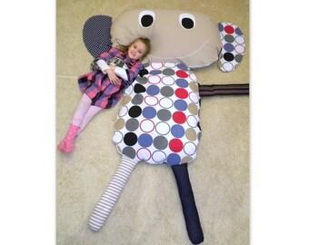 Giant funny bean bag floor pillow for kids - beanbag, funny pillow