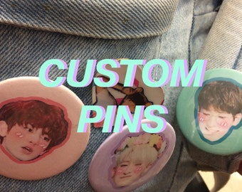 CUSTOM PINBACK BUTTONS pins