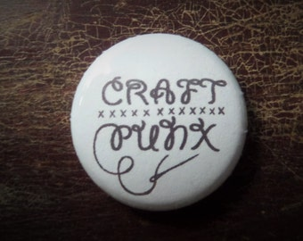 Craft Punx button