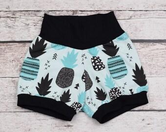 pineapple boy print TANK or SHORTS