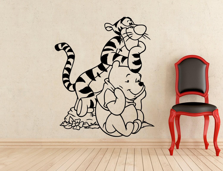 winnie the pooh wall sticker pooh bear tigger cartoon vinyl wall quote winnie the pooh wall sticker art girls boys