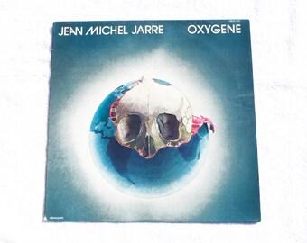 Jean Michel Jarre / Oxygène / Vinyl record 33 rpm / Electro / Pop / Music / Electronic / Vintage / 1976