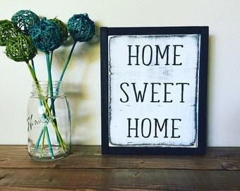 Home sweet home, monochrome home, welcome home, housewarming gift