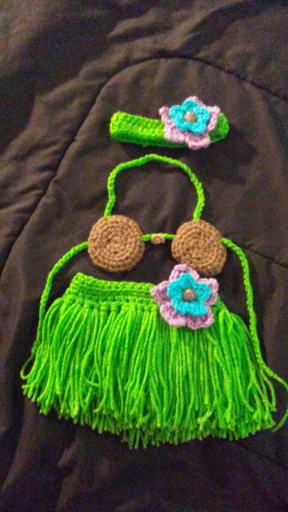 Grass Skirt Set 98