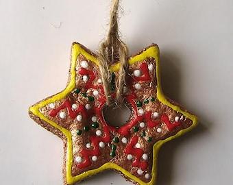 Star christmas ornaments