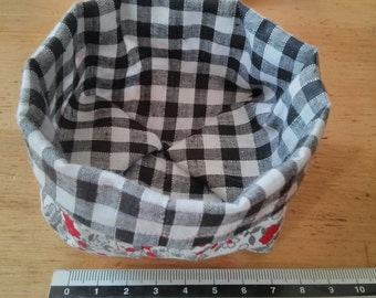 Small fabric basket