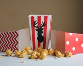Deer Popcorn Boxes, Woodland Popcorn Boxes, Deer Birthday Party, Woodland Birthday Party, Hunting Deer Banner, Camping Banner, Bulk