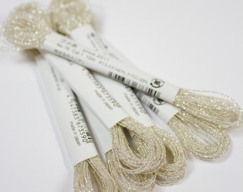 Cosmo Lecien Sparkle Embroidery Floss 76-1 Silver