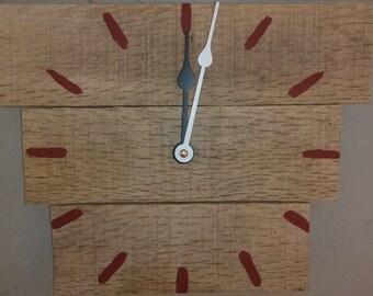 Reclaimed Wood Clck