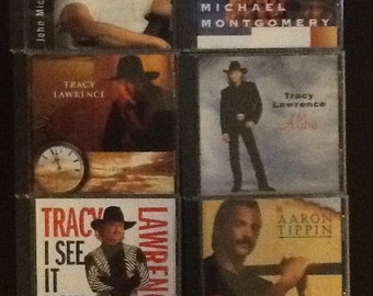 6 Country Music CDs