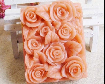 Flower Soap Mold Flower Silicone Mold Candle Mold