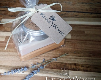 Lavender Handcare Gift Set (Handmade Soap Set, Soap Gift Set, Natural Gift Set, Bath Gift Set)