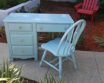 Sold!! Vintage Bassett Desk with Chair