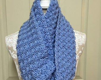 Light Blue Infinity Scarf/ Circle Scarf