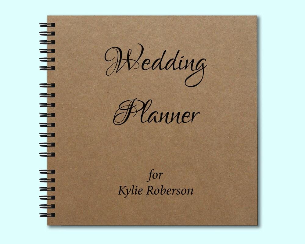 Wedding Planner Hardcover Book Hardcover Journal Square