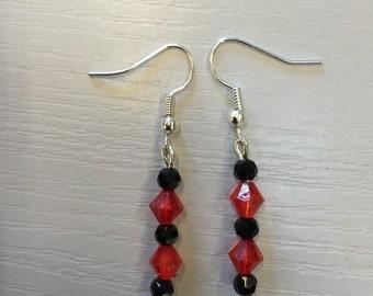 Crystal Red & Black
