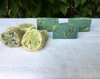 Lemongrass and Eucalyptus Soap