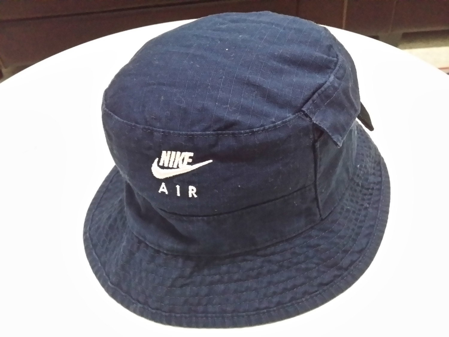 Sale Casual Bucket Hats Nike Air Embroidered Spellout Round Cap With Small  Pocket 84f923d742e