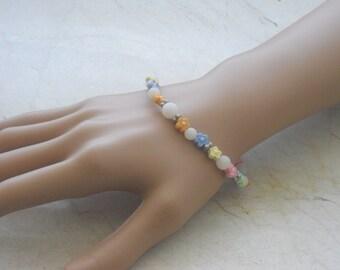 Bracelet - bracelets - bracelet - jewelry - pearl bracelet - elastic bracelet - bracelets - jewelry - girl bracelet