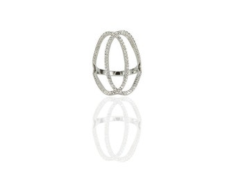 Double C Ring 925 / Sterling Silver