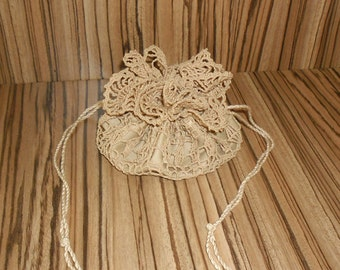 Crochet Bag, Accessory Case, Gift Bag