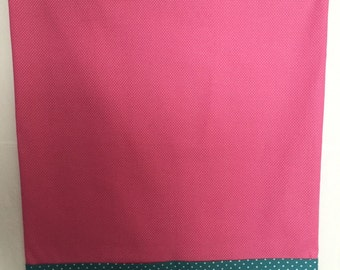 Pink Polka Dot Pillow Case