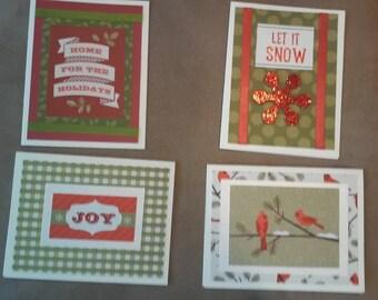 Christmas Set #3 (4 cards per set)
