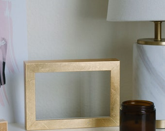 DIY Gold Leaf Frame